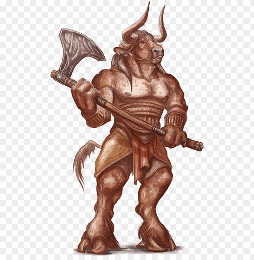 free PNG minotaur holding axe PNG image with transparent background PNG images transparent