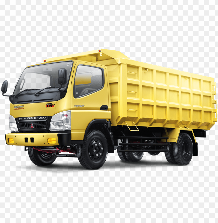Mitsubishi Fuso Dump Truck 155 Mobil Truk Png Image With Transparent Background Toppng