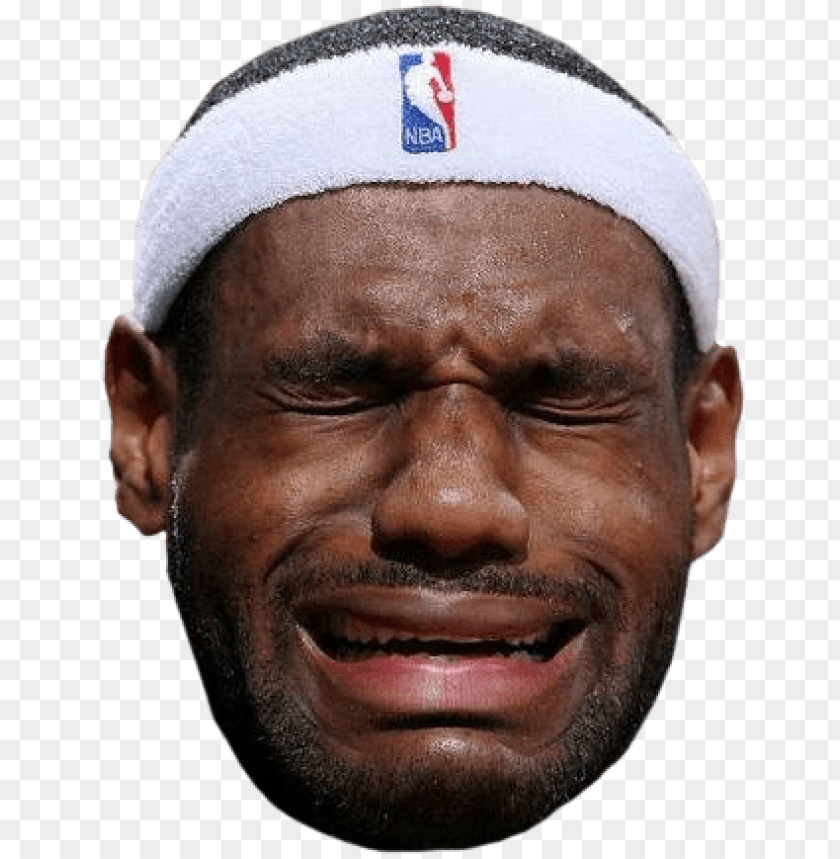 free PNG mj crying face png black and white download - lebron crying face funny humor meme basketball cavs PNG image with transparent background PNG images transparent