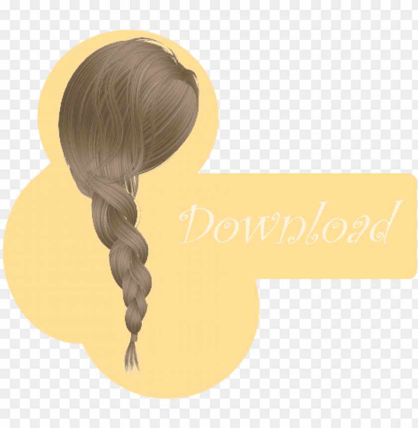 Mmd Braid Dl By Mmd Tda Braided Hair Png Image With Transparent Background Toppng