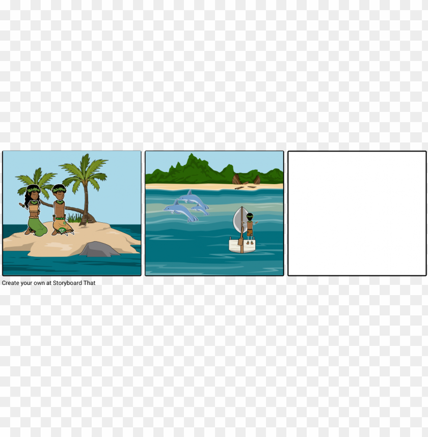 free PNG moana - perspective comic boat island PNG image with transparent background PNG images transparent