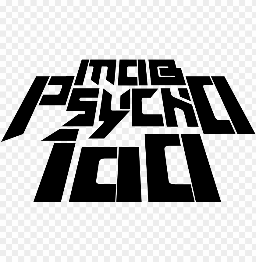 free PNG mob psycho 100 english logo - mob psycho 100 title PNG image with transparent background PNG images transparent