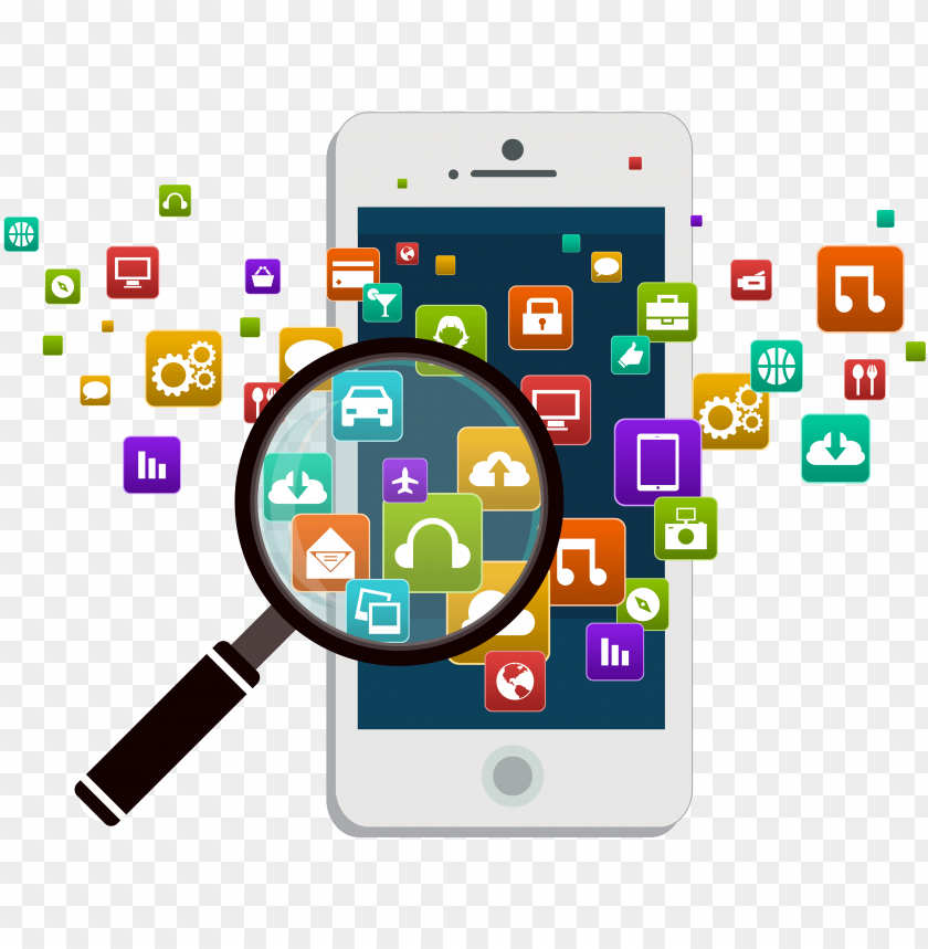 free PNG mobile app development mobile phones android software - mobile phone PNG image with transparent background PNG images transparent