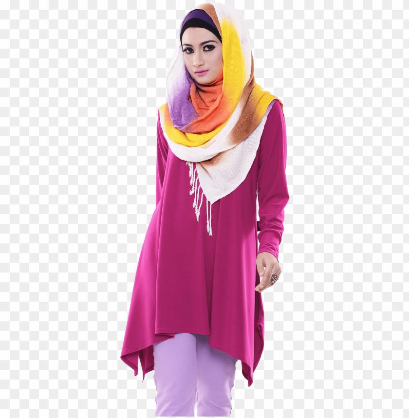 free PNG model baju atasan muslim - model baju muslim PNG image with transparent background PNG images transparent