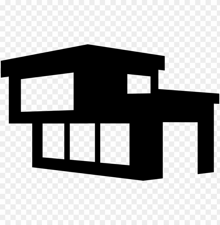 free PNG modern building of a house comments - modern house icon PNG image with transparent background PNG images transparent