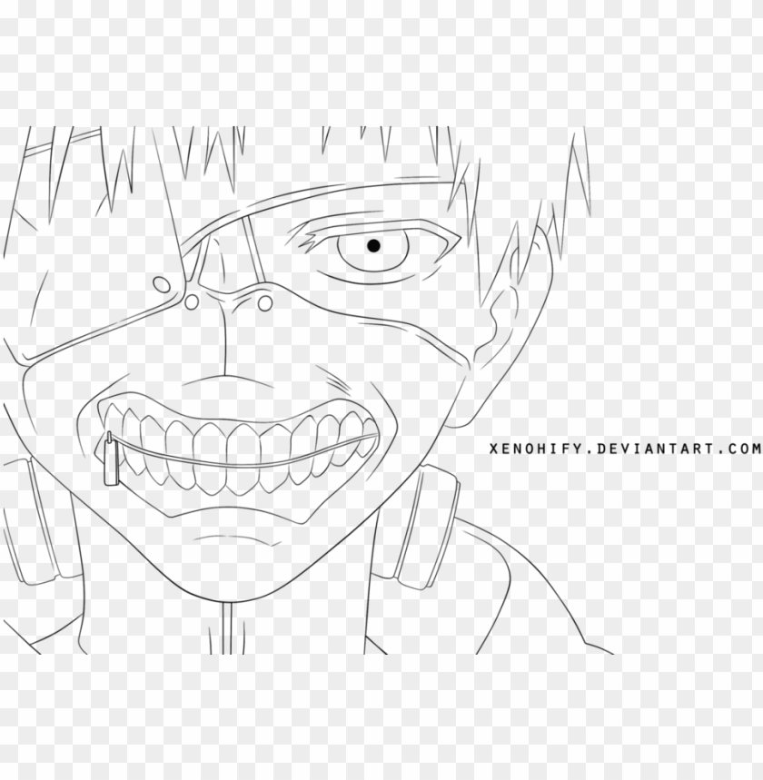 Modest Tokyo Ghoul Coloring Pages Anime Png 3d Tokyo Ghoul Kaneki Ken Cosplay Mask For Hallowee Png Image With Transparent Background Toppng