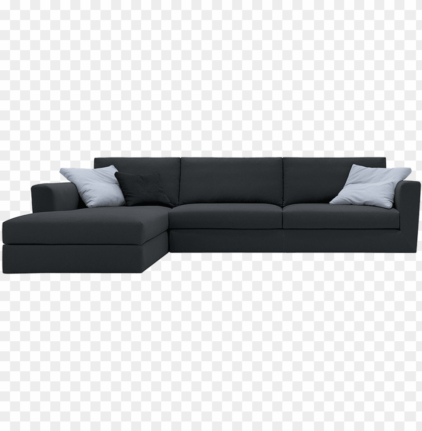 free PNG modular sofà with wooden structure - sofa bed PNG image with transparent background PNG images transparent