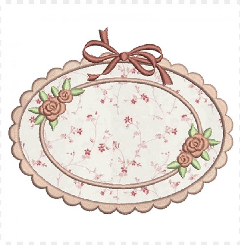 free PNG moldura com aplique 14 cm machine embroidery, tags, - molduras em aplique PNG image with transparent background PNG images transparent