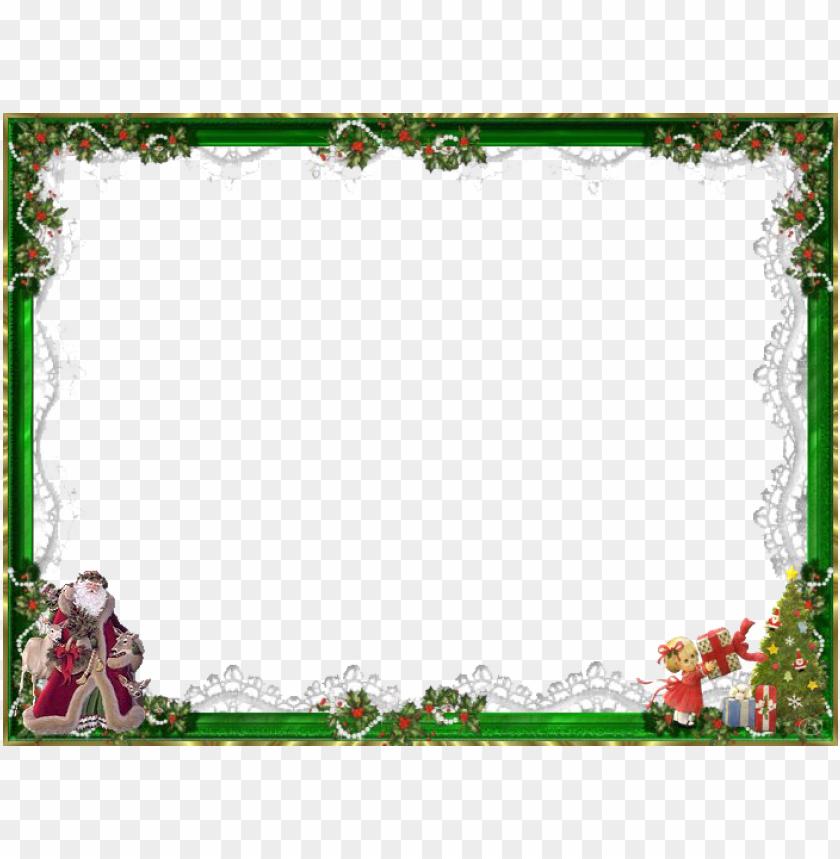 free PNG moldura - father christmas vintage santa claus st nick winter PNG image with transparent background PNG images transparent