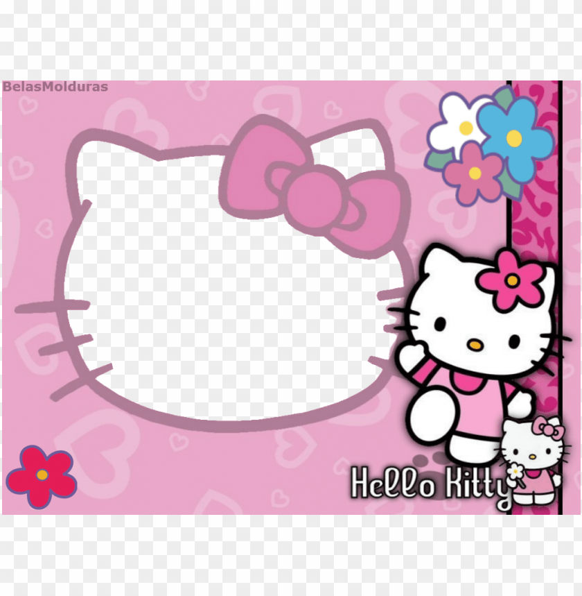 free PNG moldura hello kitty png - hello kitty background hd PNG image with transparent background PNG images transparent