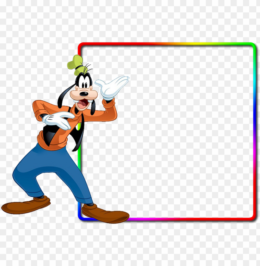 Molduras Png Simples Dog From Mickey Mouse Png Image With