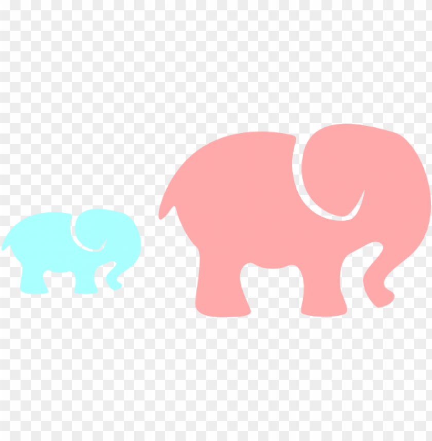 Mom And Baby Elephant Png Image With Transparent Background Toppng India, painted indian elephant, isolated. mom and baby elephant png image with