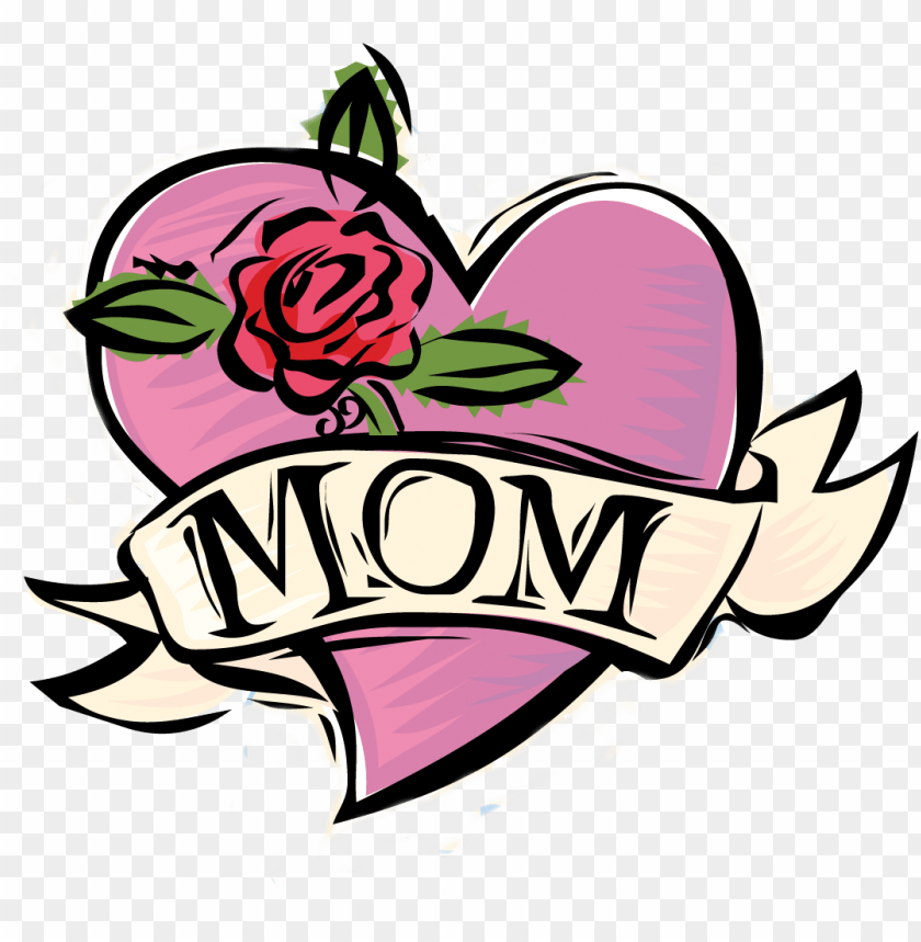 free PNG mom tattoo needlepoint rose canvas happy mothers day - humor mothers day PNG image with transparent background PNG images transparent
