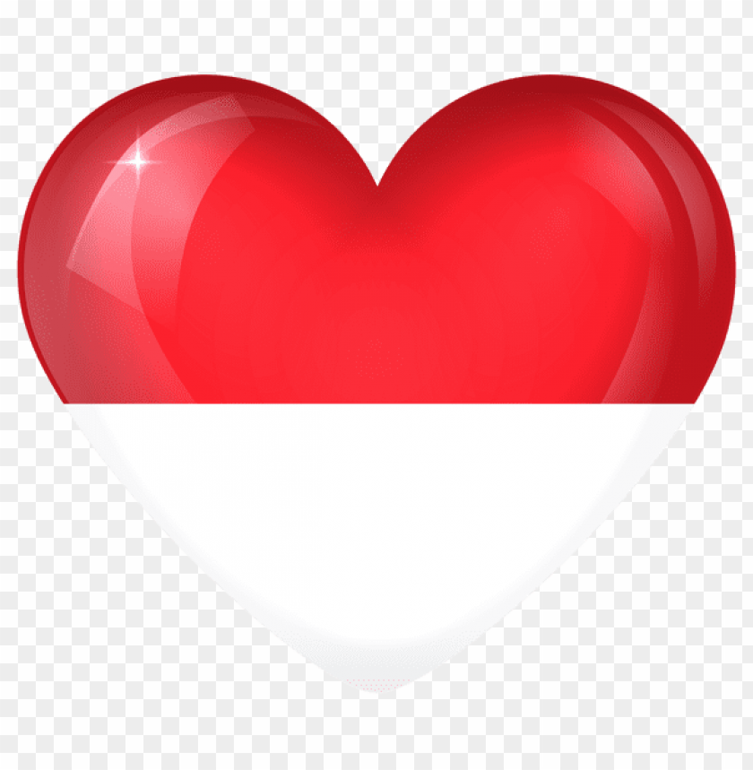 free PNG Download monaco large heart flag clipart png photo   PNG images transparent