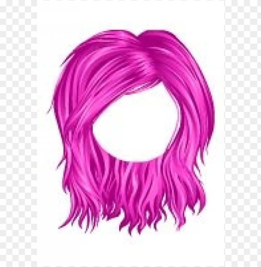 free PNG monaco messy hair pink png - Free PNG Images PNG images transparent