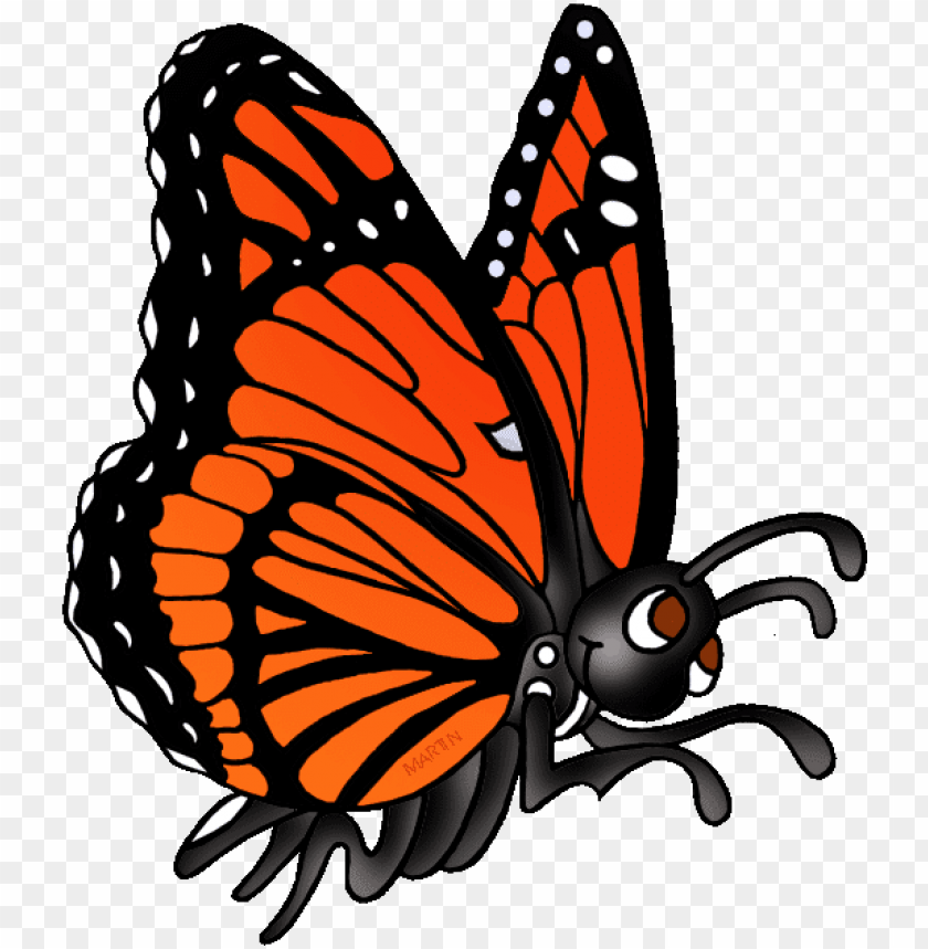 free PNG monarch butterfly clipart viceroy butterfly - butterfly phillip martin clipart PNG image with transparent background PNG images transparent