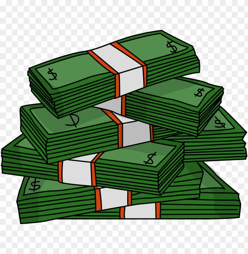 free PNG money black and white clip art images free download - money stack clip art PNG image with transparent background PNG images transparent