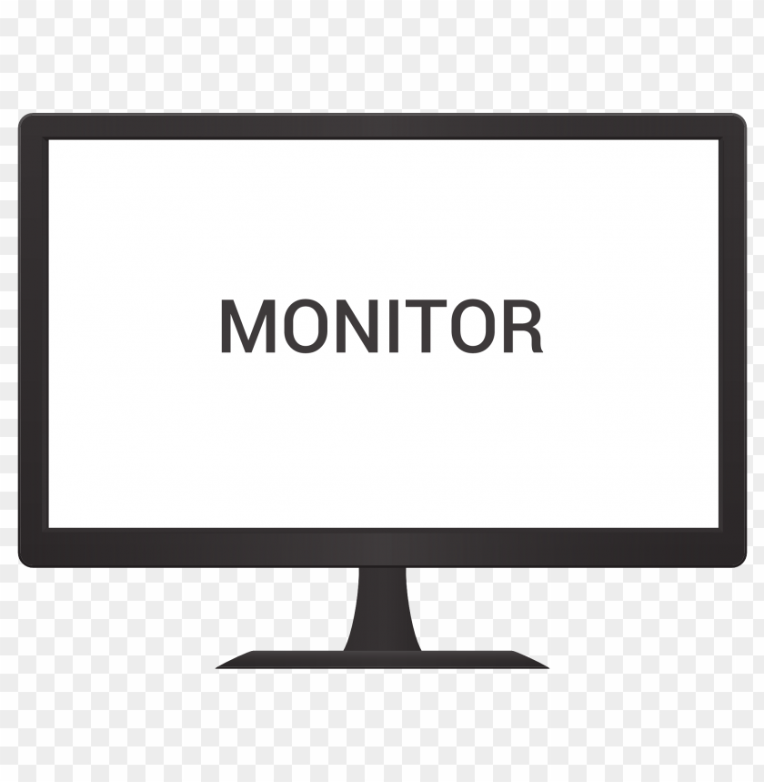 free PNG Monitor Vector png images background PNG images transparent
