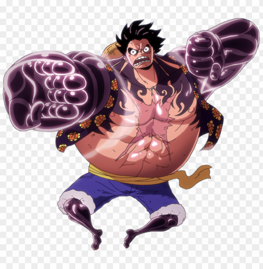 Monkey D Luffy Gear 4 Render Png Image With Transparent