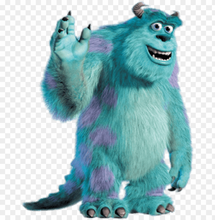 Monster University Characters Png James P Sulley Monster Inc Png Image With Transparent Background Toppng