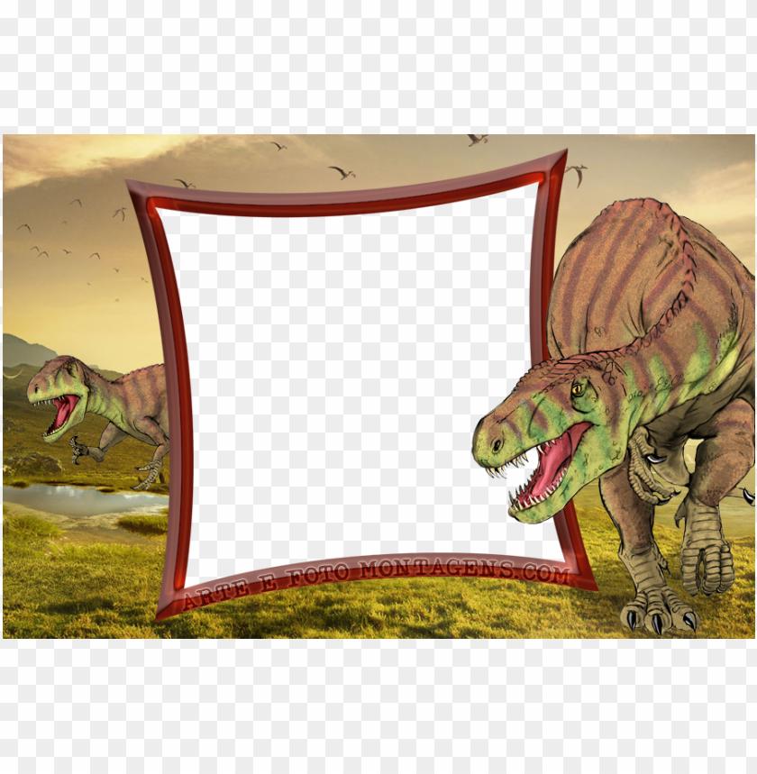 free PNG montagem para fotos - molduras para fotos dinossauros PNG image with transparent background PNG images transparent