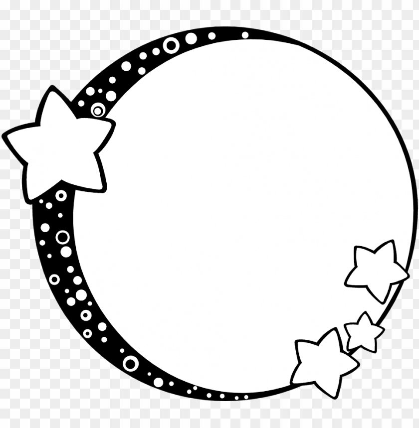 Moon Clipart Border Free Collection Clip Art Frames Png Image With Transparent Background Toppng