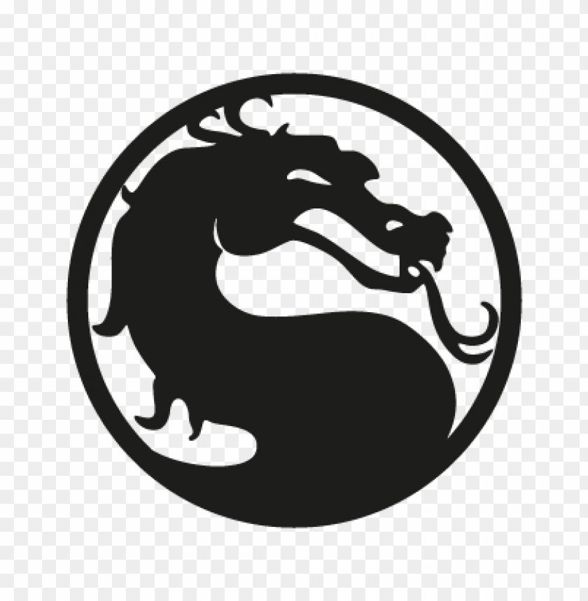 Mortal Kombat Vector Logo Free Toppng