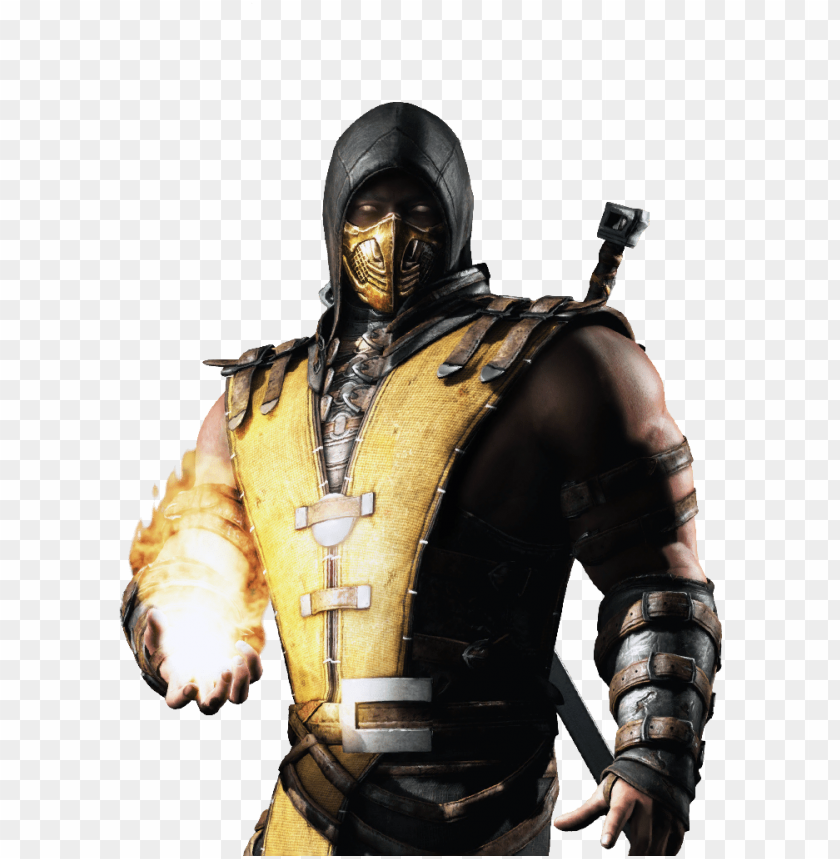 Mortal Kombat X Png Image Scorpion Mortal Kombat X Png Image