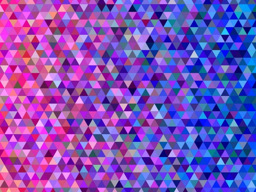free PNG mosaic, pixels, triangles, gradient, colors background PNG images transparent