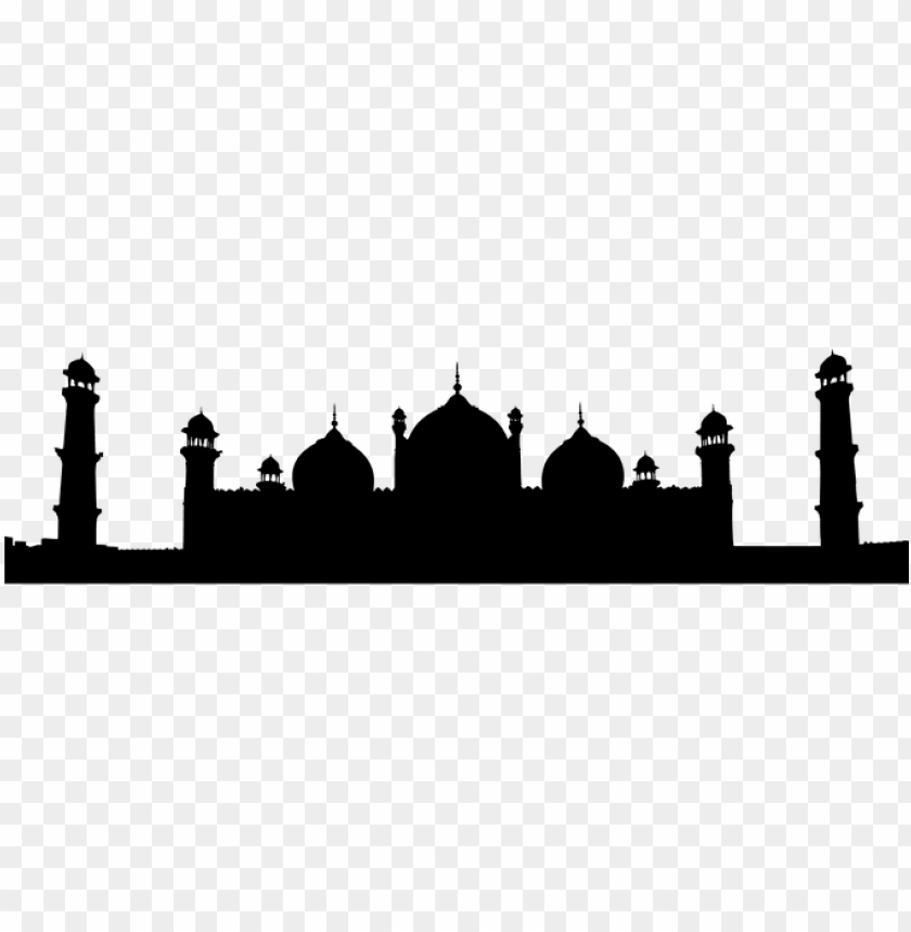 mosque, architecture, islam, muslim - badshahi mosque PNG image with transparent background@toppng.com