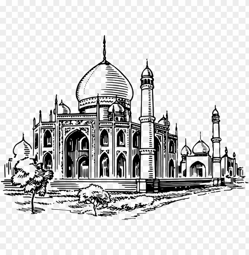 free PNG mosque islamic architecture computer icons drawing - mosque clipart black and white PNG image with transparent background PNG images transparent