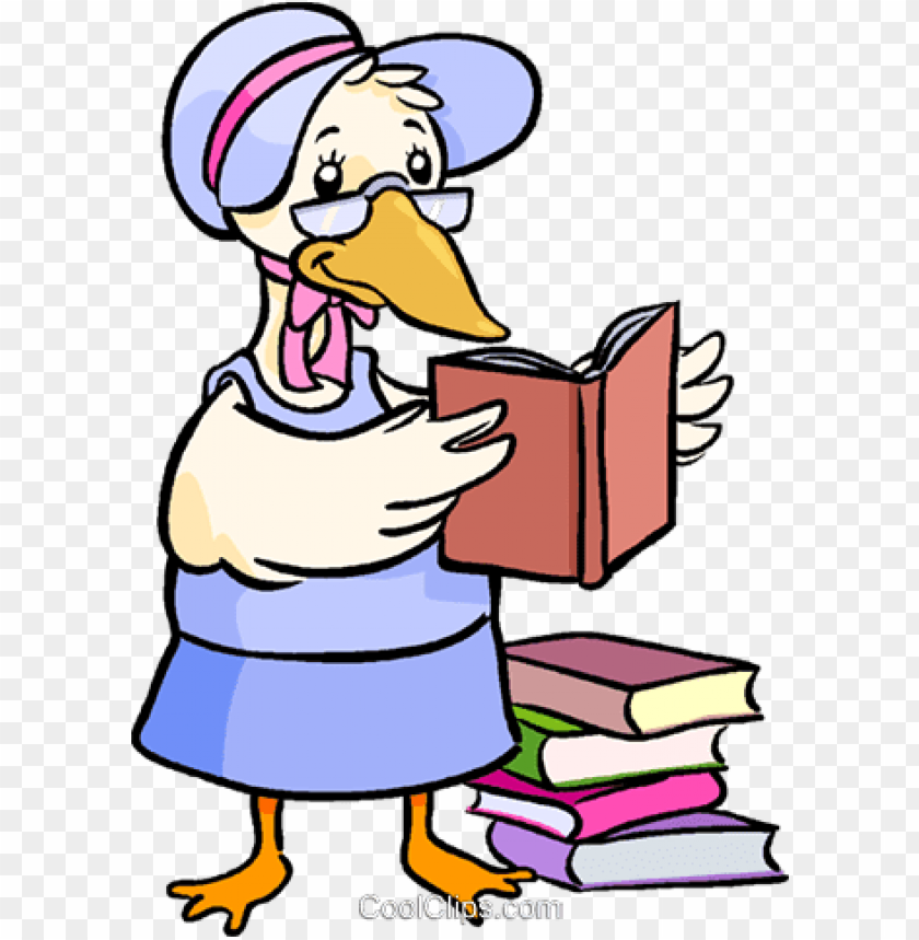 free PNG mother goose reading a book PNG image with transparent background PNG images transparent