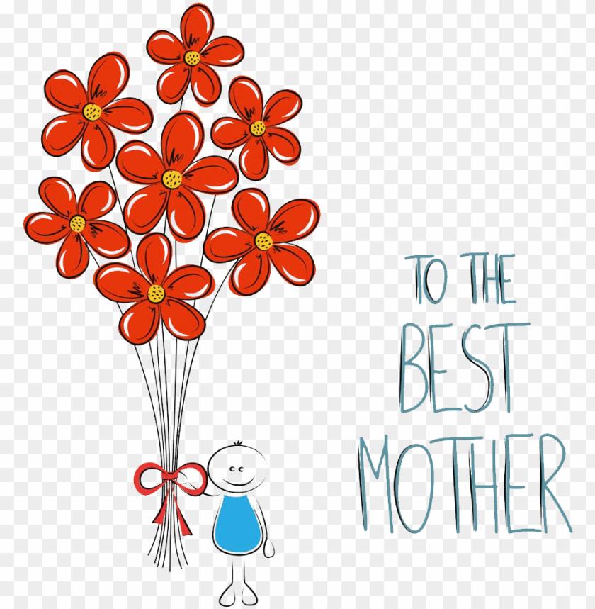 free PNG mothers day art illustration - mothers day art illustration PNG image with transparent background PNG images transparent