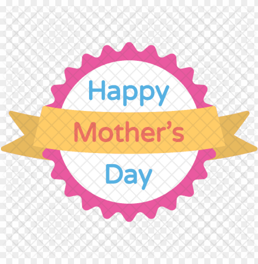 mothers day badge icon - mothers day icon PNG image with transparent background@toppng.com