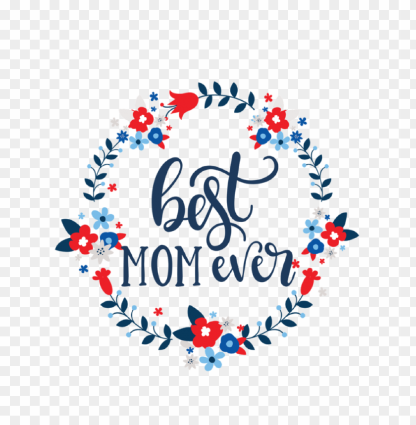 free PNG Mother's Day Christmas Day Santa Claus Wreath for Happy Mother's Day for Mothers Day PNG image with transparent background PNG images transparent