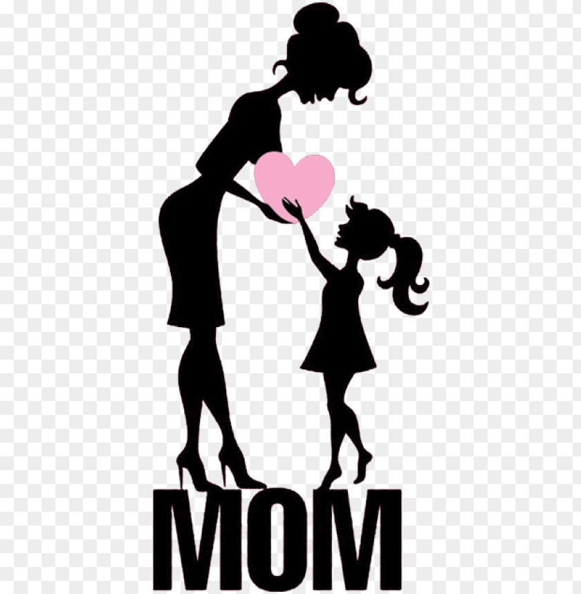 free PNG mothers day daughter illustration - happy mothers day mother and daughter PNG image with transparent background PNG images transparent