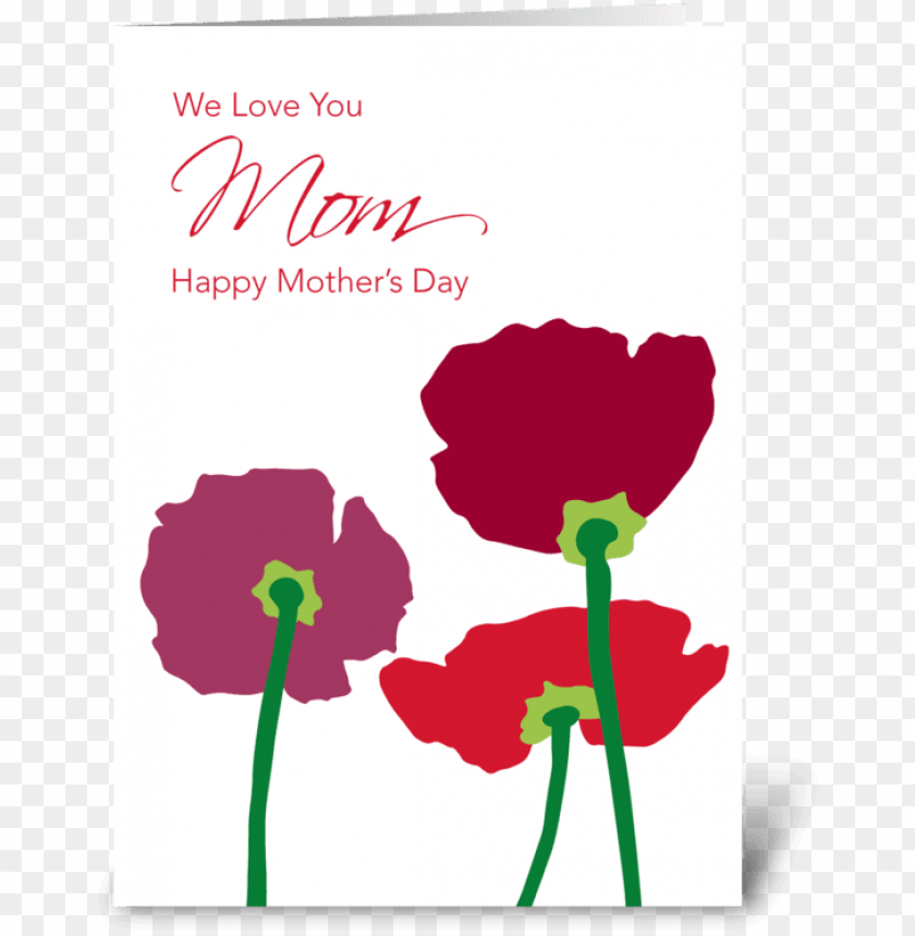 free PNG mother's day flowers greeting card - mother's day flowers greeting card PNG image with transparent background PNG images transparent