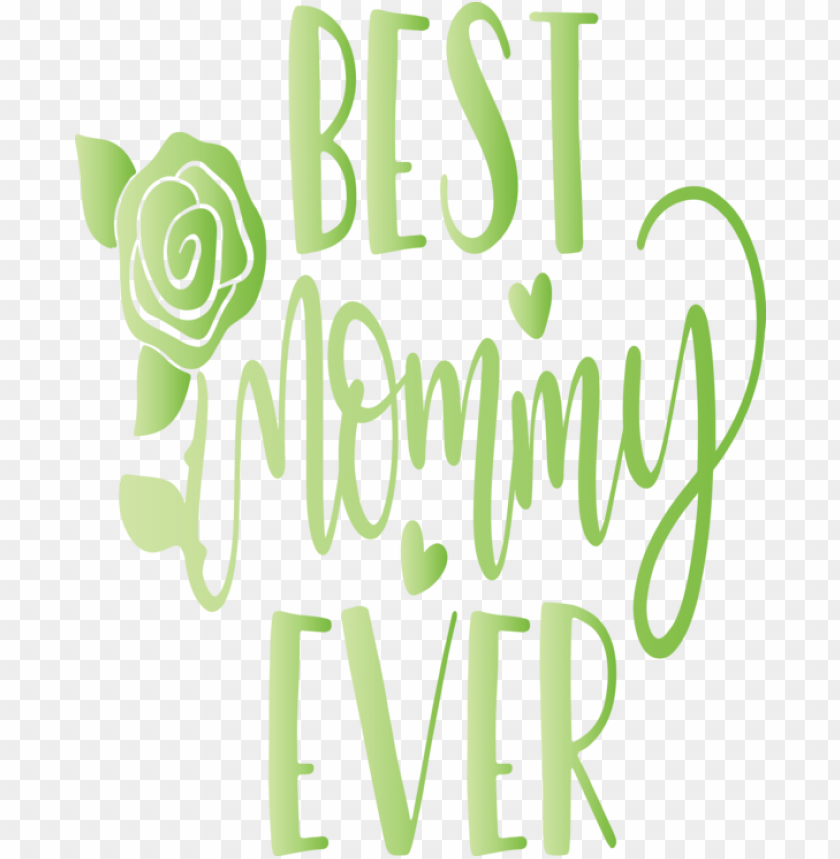free PNG Mother's Day Font Green Text for Mothers Day Calligraphy for Mothers Day PNG image with transparent background PNG images transparent