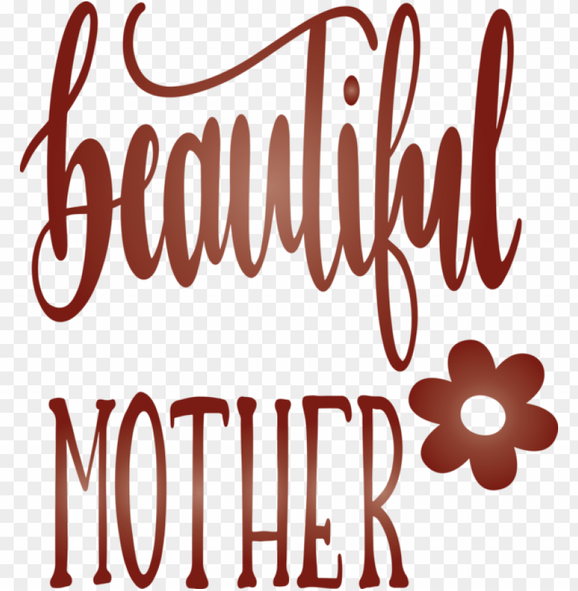 free PNG Mother's Day Font Text for Mothers Day Calligraphy for Mothers Day PNG image with transparent background PNG images transparent