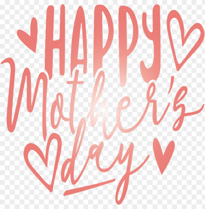 free PNG Mother's Day Font Text Heart for Mothers Day Calligraphy for Mothers Day PNG image with transparent background PNG images transparent