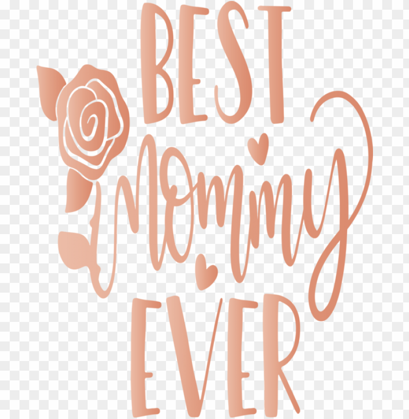 free PNG Mother's Day Font Text Logo for Mothers Day Calligraphy for Mothers Day PNG image with transparent background PNG images transparent