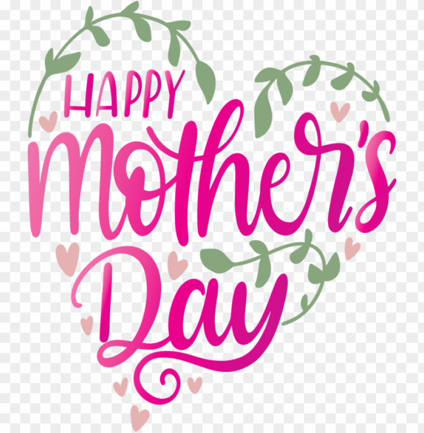 free PNG Mother's Day Font Text Pink for Mothers Day Calligraphy for Mothers Day PNG image with transparent background PNG images transparent
