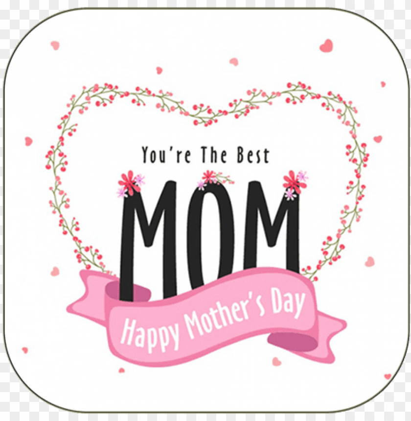 free PNG mother's day greeting card - happy mothers day stickers PNG image with transparent background PNG images transparent