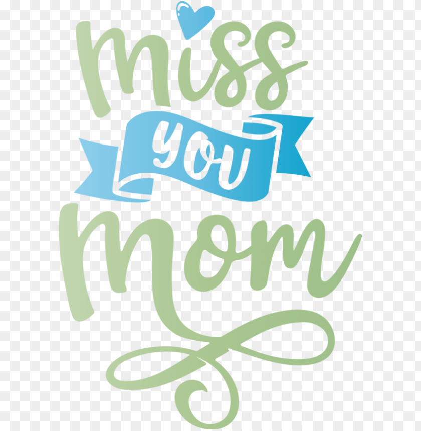 free PNG Mother's Day Logo Design Font for Miss You Mom for Mothers Day PNG image with transparent background PNG images transparent
