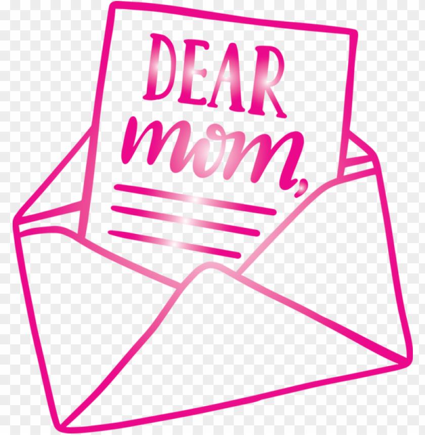 free PNG Mother's Day Pink Line Magenta for Mothers Day Calligraphy for Mothers Day PNG image with transparent background PNG images transparent