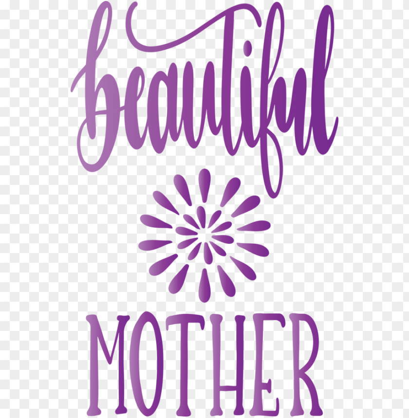 free PNG Mother's Day Purple Font Text for Mothers Day Calligraphy for Mothers Day PNG image with transparent background PNG images transparent