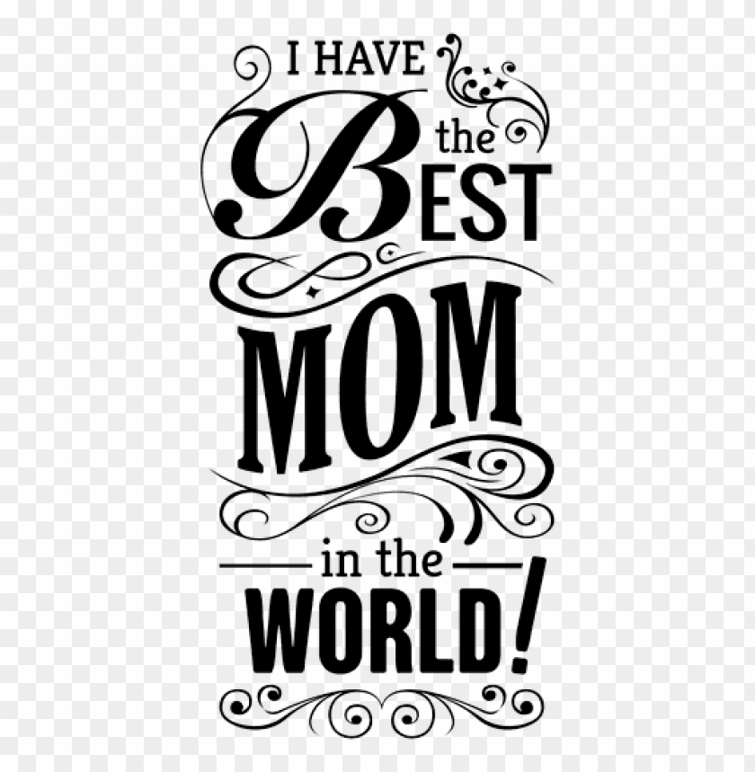 free PNG Download mothers day quote with ornaments by vexels png images background PNG images transparent