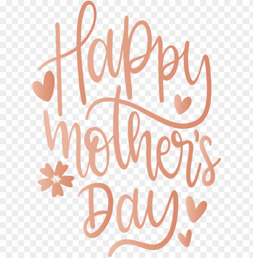 Mother's Day Text Font Line for Mothers Day Calligraphy for Mothers Day PNG image with transparent background@toppng.com