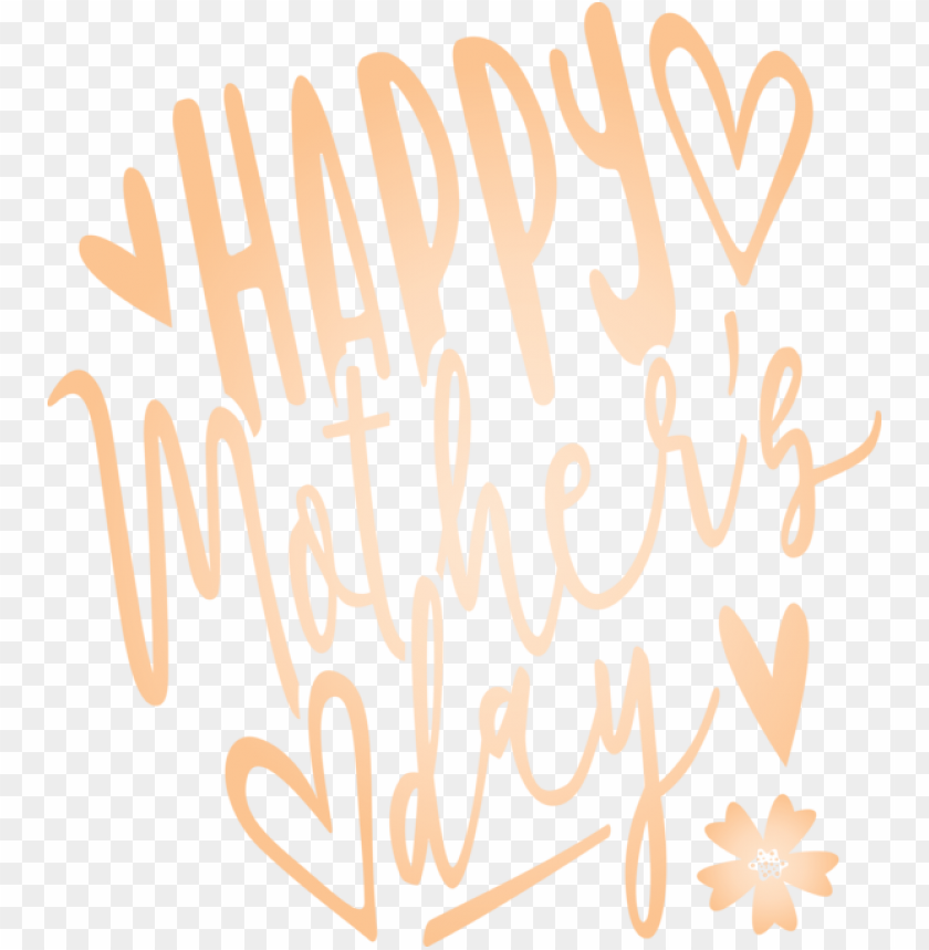 free PNG Mother's Day Text Font Line for Mothers Day Calligraphy for Mothers Day PNG image with transparent background PNG images transparent