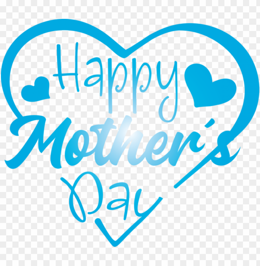 free PNG Mother's Day Text Font Turquoise for Mothers Day Calligraphy for Mothers Day PNG image with transparent background PNG images transparent